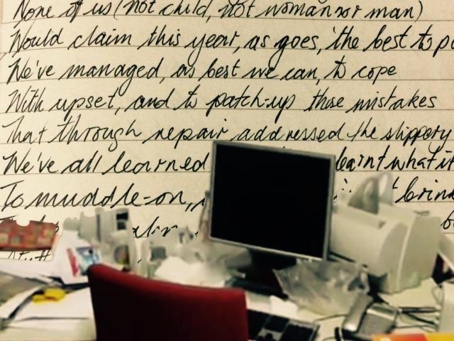Desk Mess-age